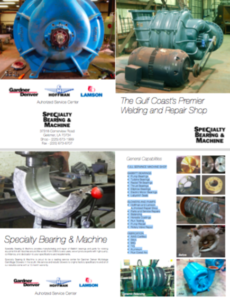 Specialty Bearing & Machine Brochure